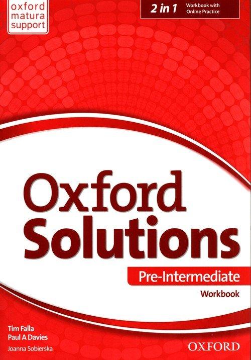 Oxford Solutions Pre-Intermediate - okładka podręcznika