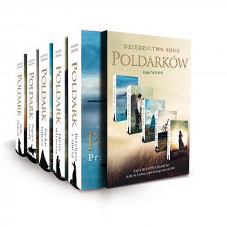 Pakiet Poldark cz. 8-12 - okładka książki