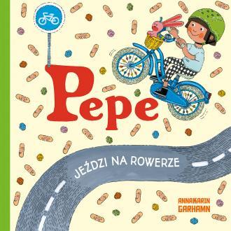 Pepe jeździ na rowerze - okładka książki