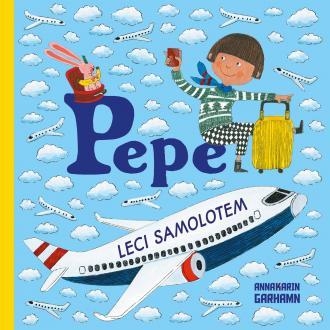 Pepe leci samolotem - okładka książki
