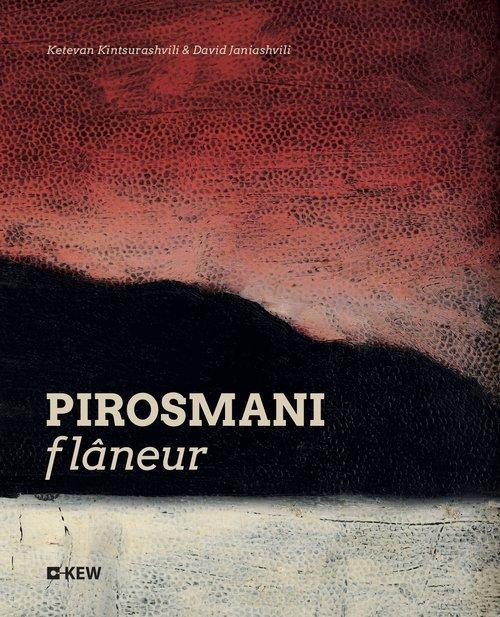 Pirosamani flaneur - okładka książki
