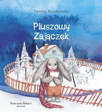 Pluszowy zajączek - okładka książki