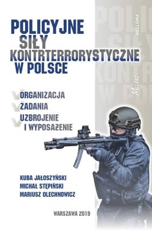 Policyjne siły kontrterrorystyczne - okładka książki