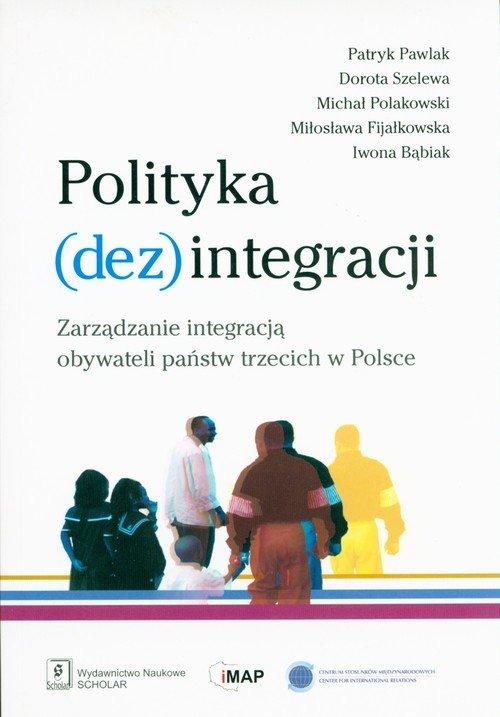 Polityka (dez)integracji - okładka książki