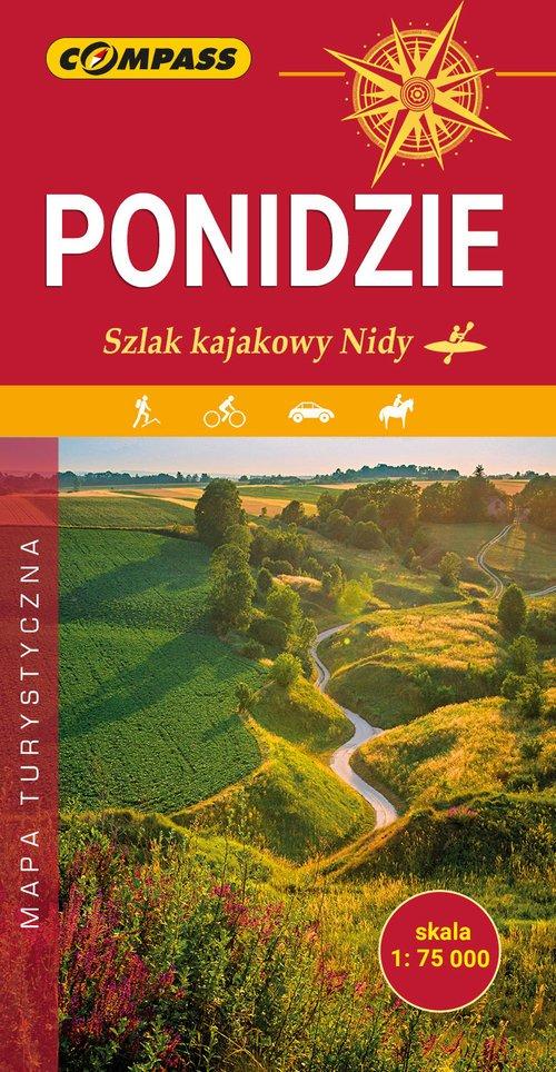 Ponidzie Szlak kajakowy Nidy - okładka książki