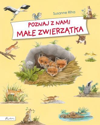 Poznaj z nami małe zwierzątka - okładka książki