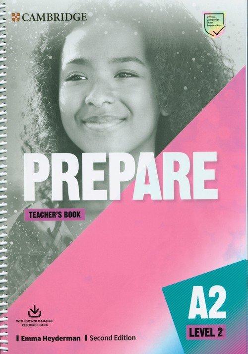 Prepare 2 Teachers Book with Downloadable - okładka podręcznika