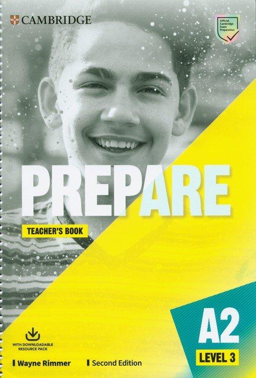 Prepare 3 Teachers Book with Downloadable - okładka podręcznika