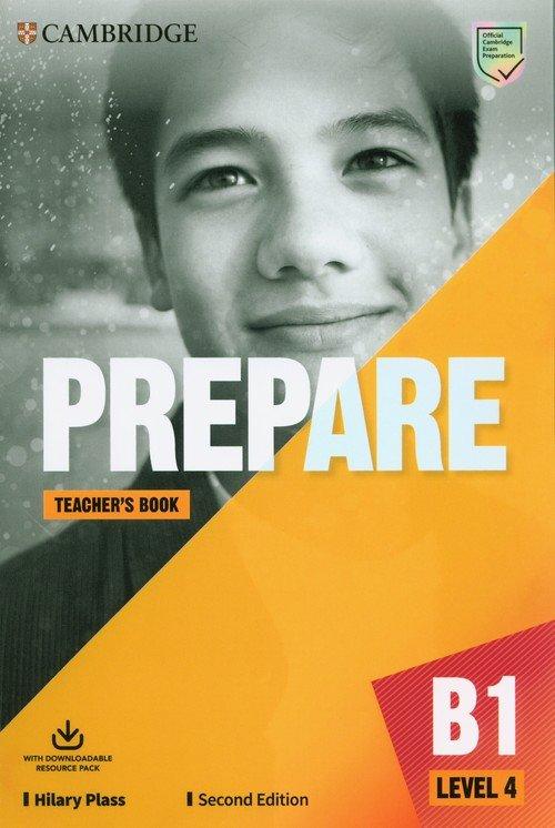 Prepare 4 Teachers Book with Downloadable - okładka podręcznika
