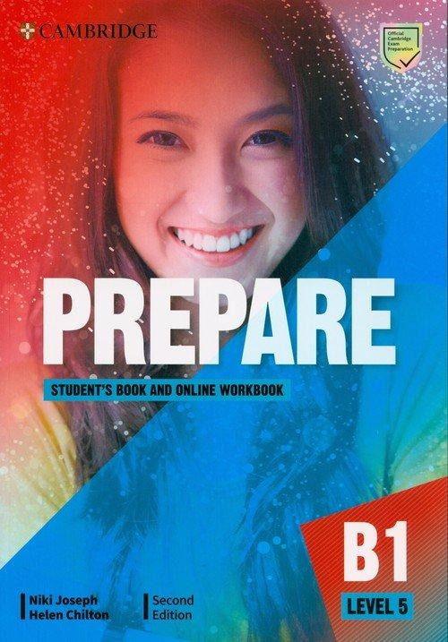 Prepare 5 Students Book with Online - okładka podręcznika