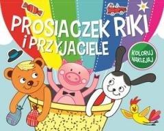 Prosiaczek Riki i przyjaciele - okładka książki