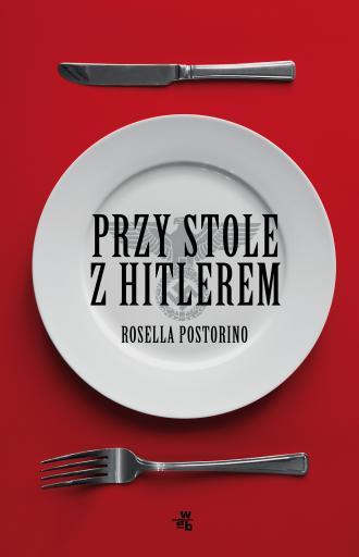 Przy stole z Hitlerem - okładka książki