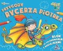 Przygody rycerza Piotrka - okładka książki