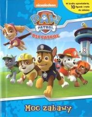Psi Patrol. Moc zabawy + 10 figurek - okładka książki