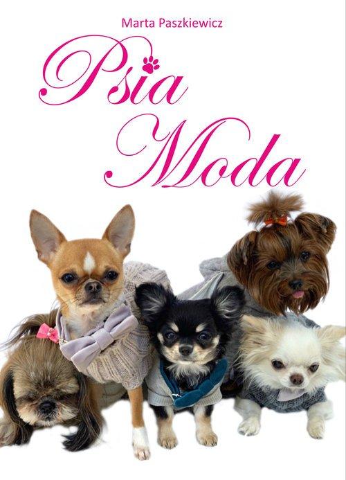 Psia Moda - okładka książki