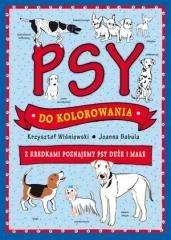 Psy do kolorowania - okładka książki
