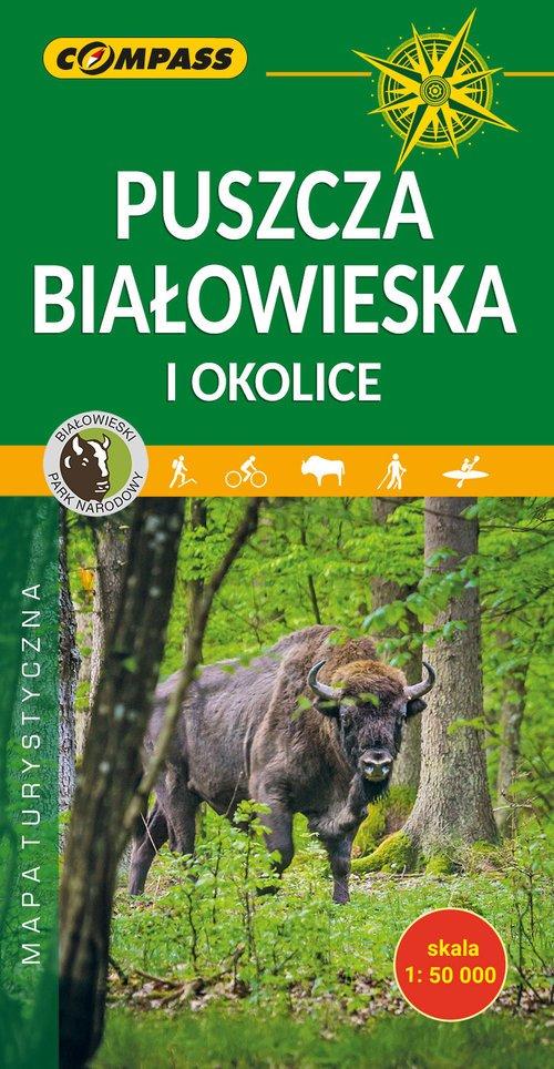 Puszcza Białowieska i okolice - okładka książki