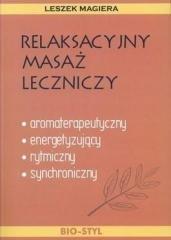 Relaksacyjny masaż leczniczy - okładka książki