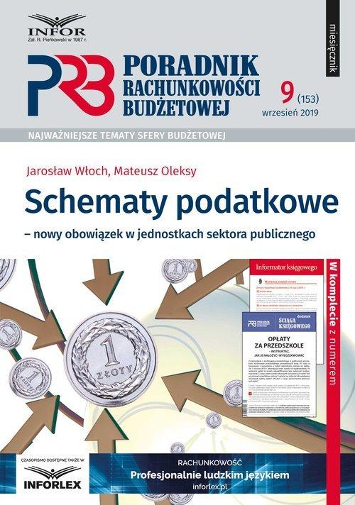 Schematy podatkowe nowy obowiązek - okładka książki