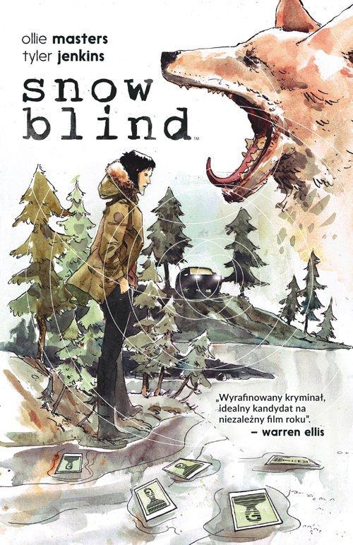 Snow Blind - okładka książki
