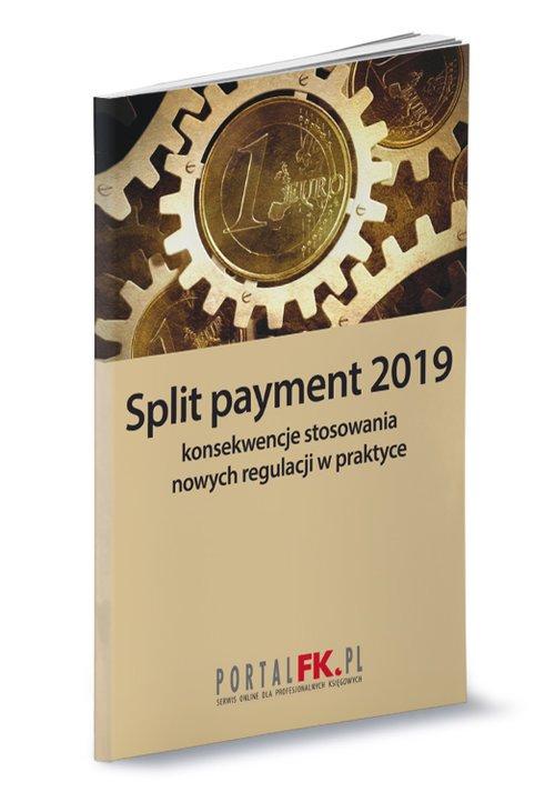 Split payment 2019 konsekwencje - okładka książki