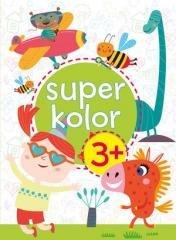 Superkolor 3+ - okładka książki