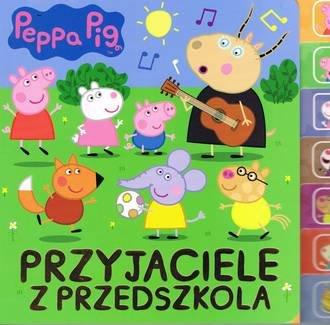 Świnka Peppa. Przyjaciele z przedszkola - okładka książki