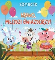 Szybcik Brawo, młodzi gwiazdorzy! - okładka książki