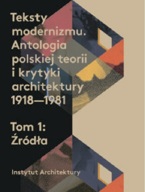 Teksty modernizmu. Antologia polskiej - okładka książki