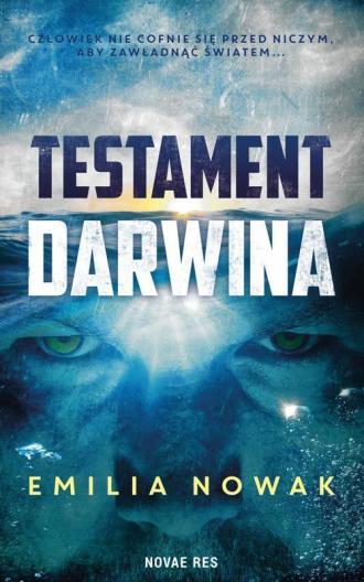 Testament Darwina - okładka książki