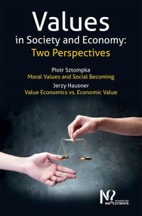 Values in Society and Economy. - okładka książki