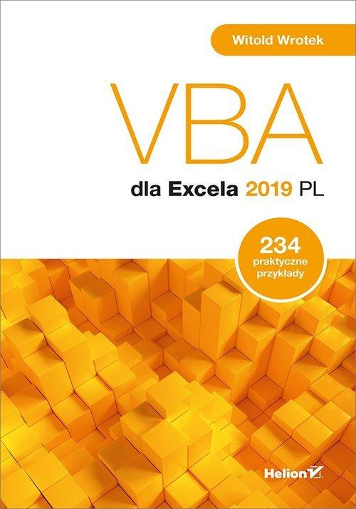 VBA dla Excela 2019 PL. 234 praktyczne - okładka książki