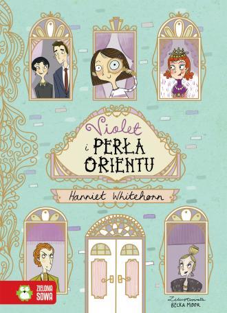 Violet i Perła Orientu - okładka książki