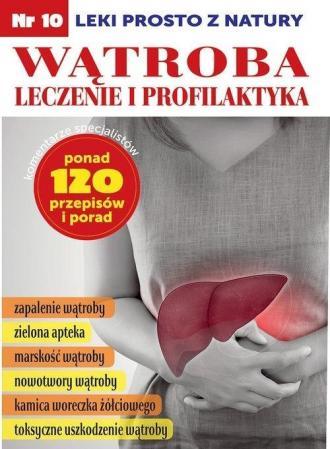 Wątroba leczenie i profilaktyka - okładka książki