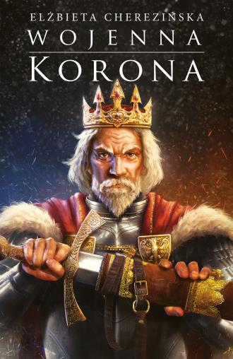 Wojenna korona - okładka książki