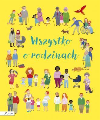 Wszystko o rodzinach - okładka książki