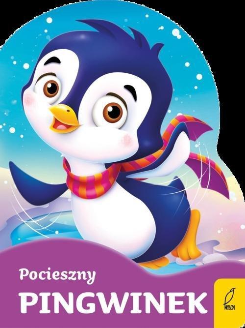 Wykrojnik. Pocieszny pingwinek - okładka książki