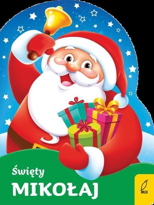 Wykrojnik. Święty Mikołaj - okładka książki