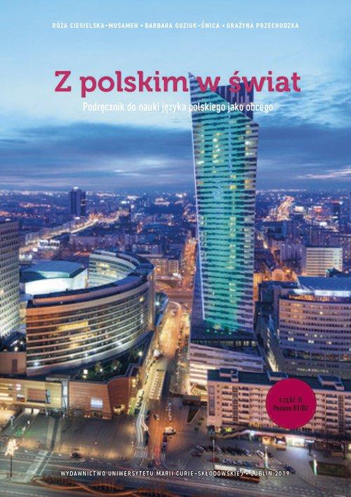 Z polskim w świat cz. 2. Podręcznik - okładka podręcznika