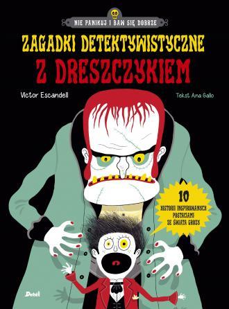 Zagadki detektywistyczne z dreszczykiem - okładka książki