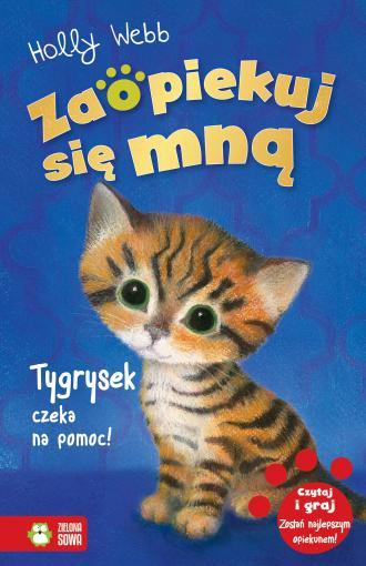 Zaopiekuj się mną. Tygrysek czeka - okładka książki