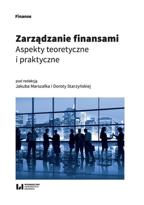 Zarządzanie finansami. Aspekty - okładka książki
