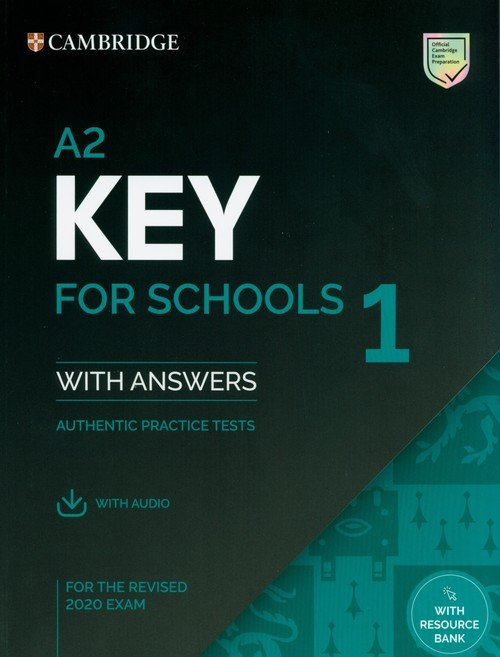 A2 Key for Schools 1 for the Revised - okładka podręcznika