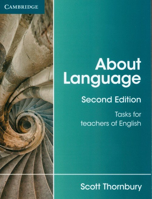About Language. Tasks for Teachers - okładka podręcznika