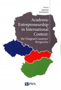 Academic entrepreneurship in international - okładka książki