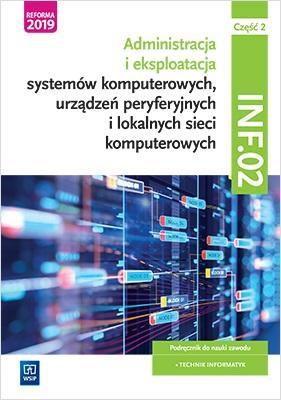 Administracja i eksploatacja systemów - okładka podręcznika