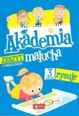 Akademia malucha. 3-latek rysuje - okładka książki
