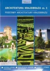 Architektura krajobrazu cz. 1. - okładka podręcznika