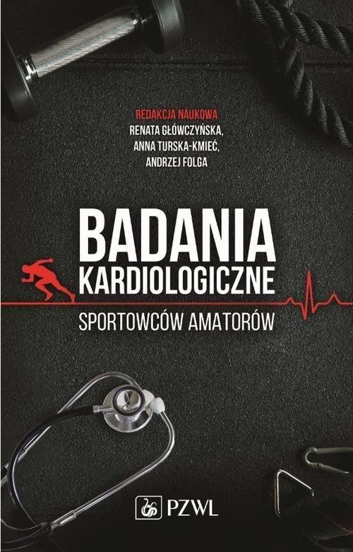 Badania kardiologiczne sportowców - okładka książki