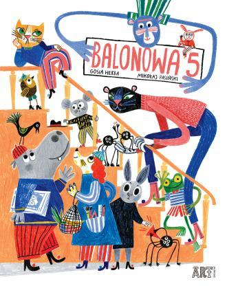 Balonowa 5 - okładka książki